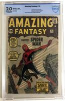 Amazing Fantasy 15, 1st App of Spider-Man CBCS Graded