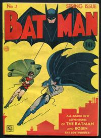 Batman 1 Restored Covers, Interior Untouched
