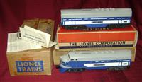 Clean Double-Boxed Lionel 2367 Wabash F3s Sept Day 1