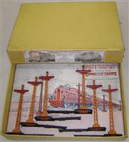 Early Boxed Lionel 071 Telegraph Pole Set