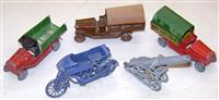 Early French Diecast Pieces