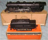 Nice Boxed Lionel 1950 773 Hudson