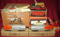 Nice Boxed Lionel 2523W Set Sept Day 1