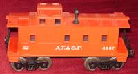 Rare Lionel 6357-50 Father  Son Caboose Day 1