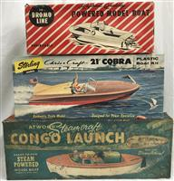 Sampling of a Collection of Boxed Toy Model Boats