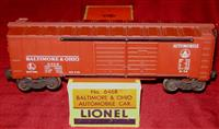 Scarce Lionel 6468X Boxcar Sept Day 1