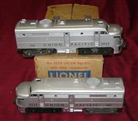 Super Boxed Lionel 2033 UP Diesels Sept Day 1