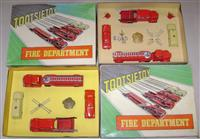 2 Different TootsieToy 5211 fire sets Day 1