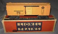 Boxed Lionel 2454 PRR Orange Door Boxcar