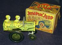 Boxed Marx Jumpin'Jeep
