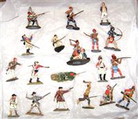 Britains  KC French  Indian War Soldiers