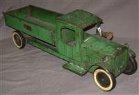 Early Structo Dump Truck with Lights
