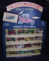 Original Bronner Matchbox MOY Store Display