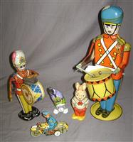 Plenty of Litho Tin Toys