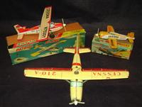 Several Lots of Japanese Civilian Aircraft Toys