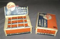 Several Unusual Lionel Bulb Displays