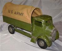 Structo Army Truck